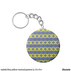 Shop for customizable God keychains on Zazzle. Buy a metal, acrylic, or wrist style keychain, or get different shapes like round or rectangle! Let Go And Let God, Let It Be, Round Button, Blue Yellow, Buttons, Personalized Items, Stylish, Pattern, Stuff To Buy