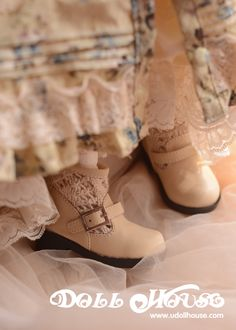 1/3 SD CUTIE brand Mori style ankle boots via Doll House on Taobao