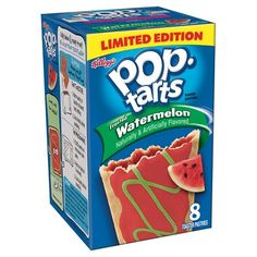 Kellogg's Pop Tarts Limited Edition Frosted Watermelon 8ct : Target