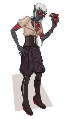 another elf merchant ❤️ money, baths, wine 💔 hagglers, physical exercise poison vendor Character Concept, Character Art, Character Design, Fantasy Rpg, Medieval Fantasy, D D Characters, Fantasy Characters, Night Elf, Dark Elf