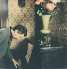 Shooting Film: Gorgeous Portrait Polaroid Photography by Carmen De Vos