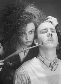 The first take from this helena accidently stuck her wand in Nevilles ear and punctured his eardrum