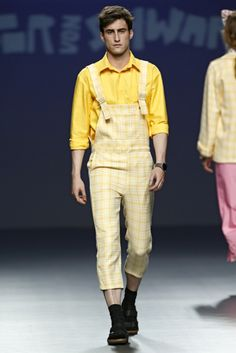 Víctor Von Schwarz - EGO Madrid Fashion Week #mbfwm