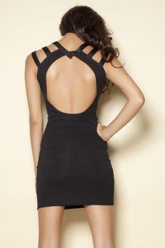 Motel Nina Scoop Back Dress