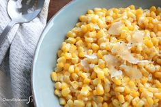 Fast and yummy Parmesan garlic corn recipe - CherylStyle