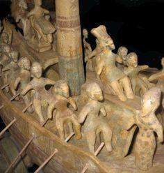 minoan ship detail