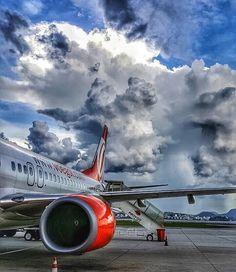 Santos Dumont Airport at Rio de Janeiro