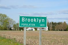 Awe such a cute small town that inspired our project Small Towns, Wisconsin :-)