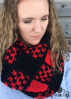 Buffalo Check Obsession Scarf free crochet pattern Buffalo check plaid is so popular right now. Now is your chance to make a beautiful accessory and turn heads everywhere you go! This post may contain affiliate links By using this pattern you agree to the Pattern Terms of Use YARN Red Heart With Love in Holly [...]