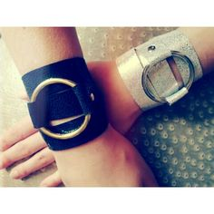 Triple wrap leather bracelets