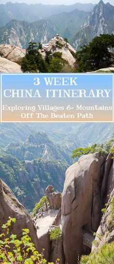 3 Week China Itinerary - Off The Beaten Path | Annual Adventure  www.travel4life.club