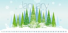 A list of special holidays & funny days in January.