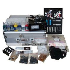 Tattoo Machine Kit With 2 Tattoo Machines (0359-5.26-11)