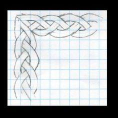 Ready to work it into a frame? Celtic Quilt, Page Borders Design, Border Design, Celtic Symbols, Celtic Art, Celtic Drawings, Celtic Knots Drawing, Celtic Knot Tutorial, Drawing Borders
