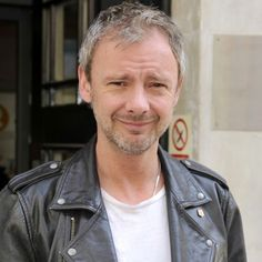 John Simm at the BBC today.