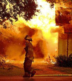 Over night Fire Scene 5/1/13  Photo by Bob Bartosz www.setcomcorp.com/fire.html