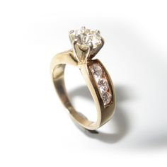 Susan's redesigned engagement ring by Wendy Brandes.