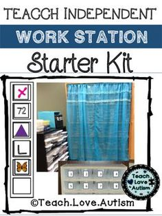 This kits has everything you need to set up your own Independent Work Task Starter Kit in your classroom! Provide your students with the opportunity to be independent in the classroom to allow you time to work with other students. From visuals, schedules, reinforcer boards, and reinforcer visuals this kit has it all!!