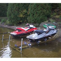 Rampe d'accès pour motomarine et petite embarcation à capacité de charge de 1…