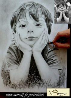 portraitiste #portraits #dessin #crayon #amazing www.samos17.fr réalisation au crayon dessin d'aprés photos sur commande