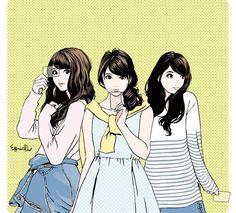 HISASHI EGUCHI(江口寿史) Character Design Girl, Female Character Inspiration, Character Design References, Cute Girl Drawing, Girls Anime, Art Friend, Photography Illustration, Manga Artist, Ink Illustrations