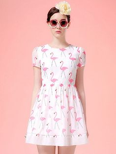 Pink Flamingo Dress - RP Dress
