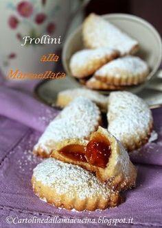 Cartoline dalla mia Cucina: Biscotti mezzelune alla marmellata