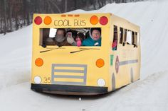 Cornbread's Cardboard Classic 2 - SCHOOL BUS