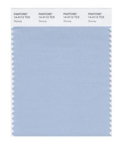 #@ Special Price PANTONE SMART 14-4112X Color Swatch Card Skywaya