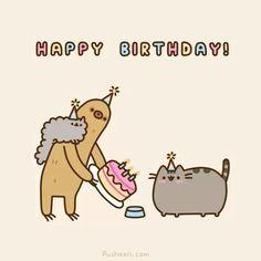 Pusheen birthday