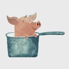 Illustration of the Pig - ILLUSTRATION (Daily)