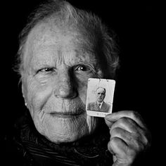 "Alegra Shami, 84, with the only photo she has of her father. She was 16 when she arrived at Auschwitz. ""They ordered us to stand in a line,"" she said. ""A young woman grabbed me and shouted: 'Reach out your left arm. I'm going to put a number on it. And you will remember it for the rest of your life — if you survive at all  — just for as long as you manage to survive'. I'm 84 years old. My number: 76914."""