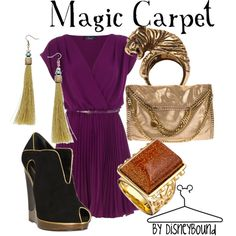 Disney Bound: Magic Carpet from Aladdin Disney Themed Outfits, Disney Dresses, Disney Clothes, How To Have Style, My Style, Disney Inspired Fashion, Disney Fashion, Women's Fashion, Fashion Ideas
