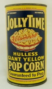 1933, American Pop Corn Co., Sioux City, Iowa.