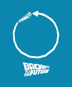 back to the future1 650x792 Saul Bass influenced movie posters part 2