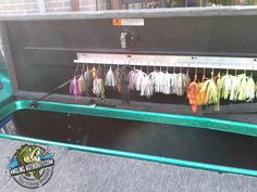Boat Spinnerbait Organization - Quick Tip (would my husband love this?)