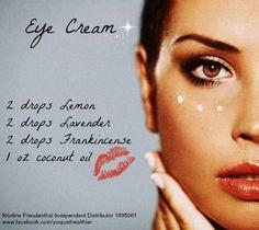 Eye Cream with Essential Oils