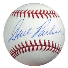 Dave Parker Autographed MLB Baseball PSA/DNA #P24081 . $49.00. This is an Official Major League Baseball that has been hand signed by Dave Parker. The autograph has been authenticated by PSA/DNA and comes with their sticker and matching certificate of authenticity.