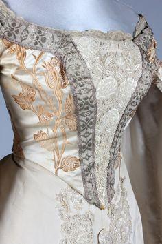 Worth Russian court dress ca. 1890