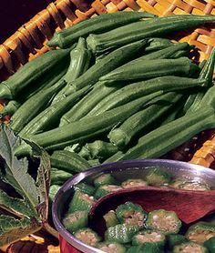 Okra, Clemson Spineless Organic