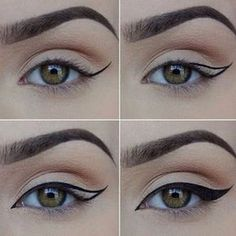 How to Apply Eyeliner. Eyeliner can help make your eyes stand out or look bigger, and it can even change their shape. Even if you've never worn eyeliner before, all it takes is a little practice to take your makeup to the next level! Eyeliner Hacks, Khol Eyeliner, How To Apply Eyeliner, Eyeliner Pencil, Perfect Eyeliner, Eyeliner Styles, Cat Eye Eyeliner, Applying Eyeliner, Eyeliner Brands