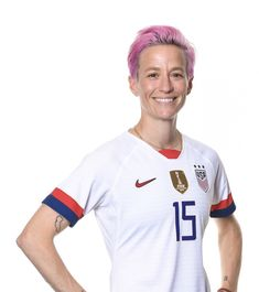 Megan Rapinoe #15, USWNT, Official FIFA Women's World Cup 2019 Portrait Fifa 15, Megan Rapinoe, Fifa Women's World Cup, Football, Team Usa, Powerful Women, Girl Crushes, Role Models, Polo Ralph Lauren