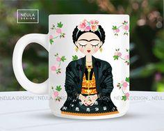 Las tazas de cerámica  dan un lindo toque decorativo