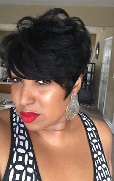 66 Chic Short Bob Hairstyles & Haircuts for Women in 2019 - Hairstyles Trends My Hairstyle, Twist Hairstyles, Hairstyles Haircuts, Pretty Hairstyles, Straight Hairstyles, Black Hairstyles, Relaxed Hairstyles, Hairstyle Tutorials, Pixie Haircuts
