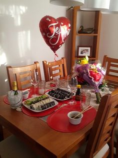 This cute idea still thinking to do for our anniversary