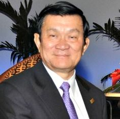 Government- This is a picture of Truong Tan Sang who is the current president of Vietnam. He was born on January 21, 1949 and is 65 years old.