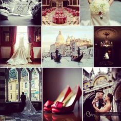 Red shoes, wedding & Rome