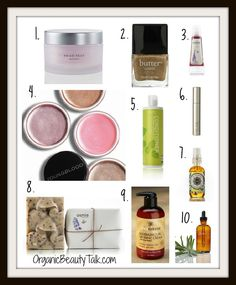 Top 10 Natural Beauty Finds | Organic Products | Organic Beauty Talk