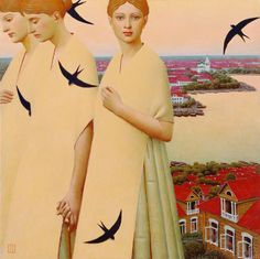 Andrei Remnev, contemporary Russian painter
