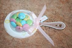 Cute babyshower idea, treat cups by stampin up?